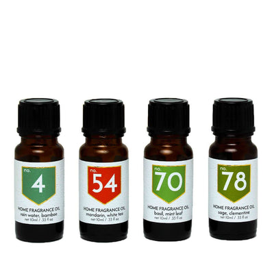Fresh Scented Home Fragrance Diffuser Oils Gift Set - A C D C