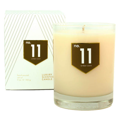 No. 11 Amber Cinnamon Scented Soy Candle - A C D C