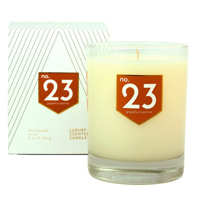 No. 23 Grapefruit Jasmine Scented Soy Candle - A C D C