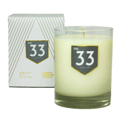 No. 33 Vetiver Cedar Scented Soy Candle - A C D C