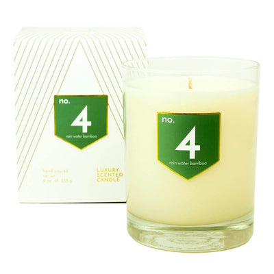 No. 4 Rain Water Bamboo Scented Soy Candle - A C D C