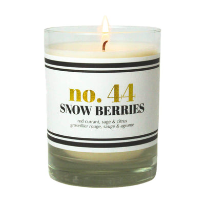 No. 44 Snow Berries Scented Soy Candle - A C D C
