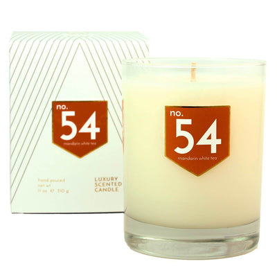 No. 54 Mandarin White Tea Scented Soy Candle - A C D C