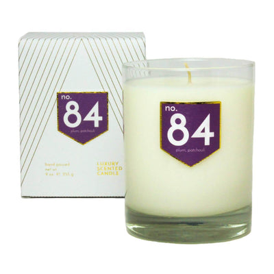 No. 84 Plum Patchouli Scented Soy Candle - A C D C