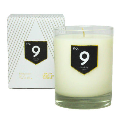No. 9 Black Fig Cassis Scented Soy Candle - A C D C