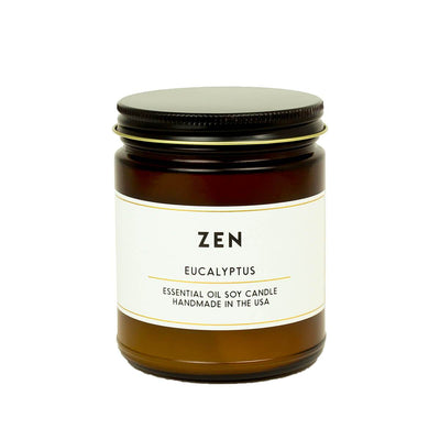 Zen Eucalyptus Essential Oil Aromatherapy Candle - ACDC Co