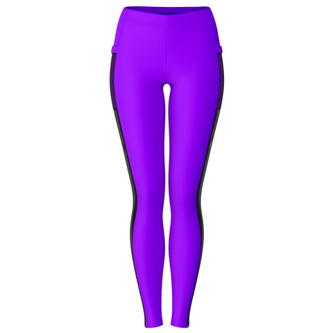 702 Hardcore HD AOP Mesh Panel Leggings