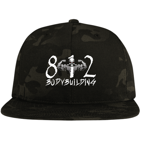 812 STC19 Flat Bill High-Profile Snapback Hat