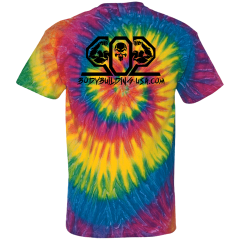 502 Black CD100 100% Cotton Tie Dye T-Shirt
