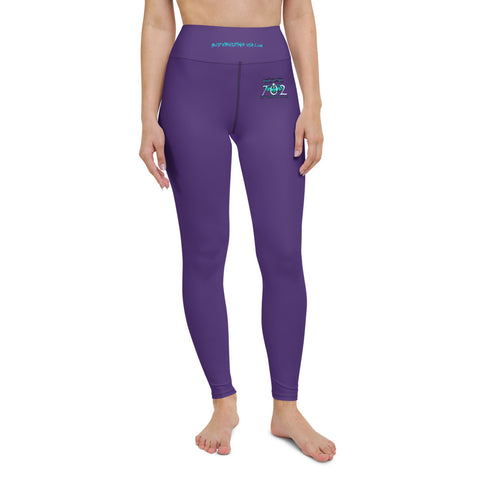 702 High Waist HD AOP High Waist Yoga Leggings