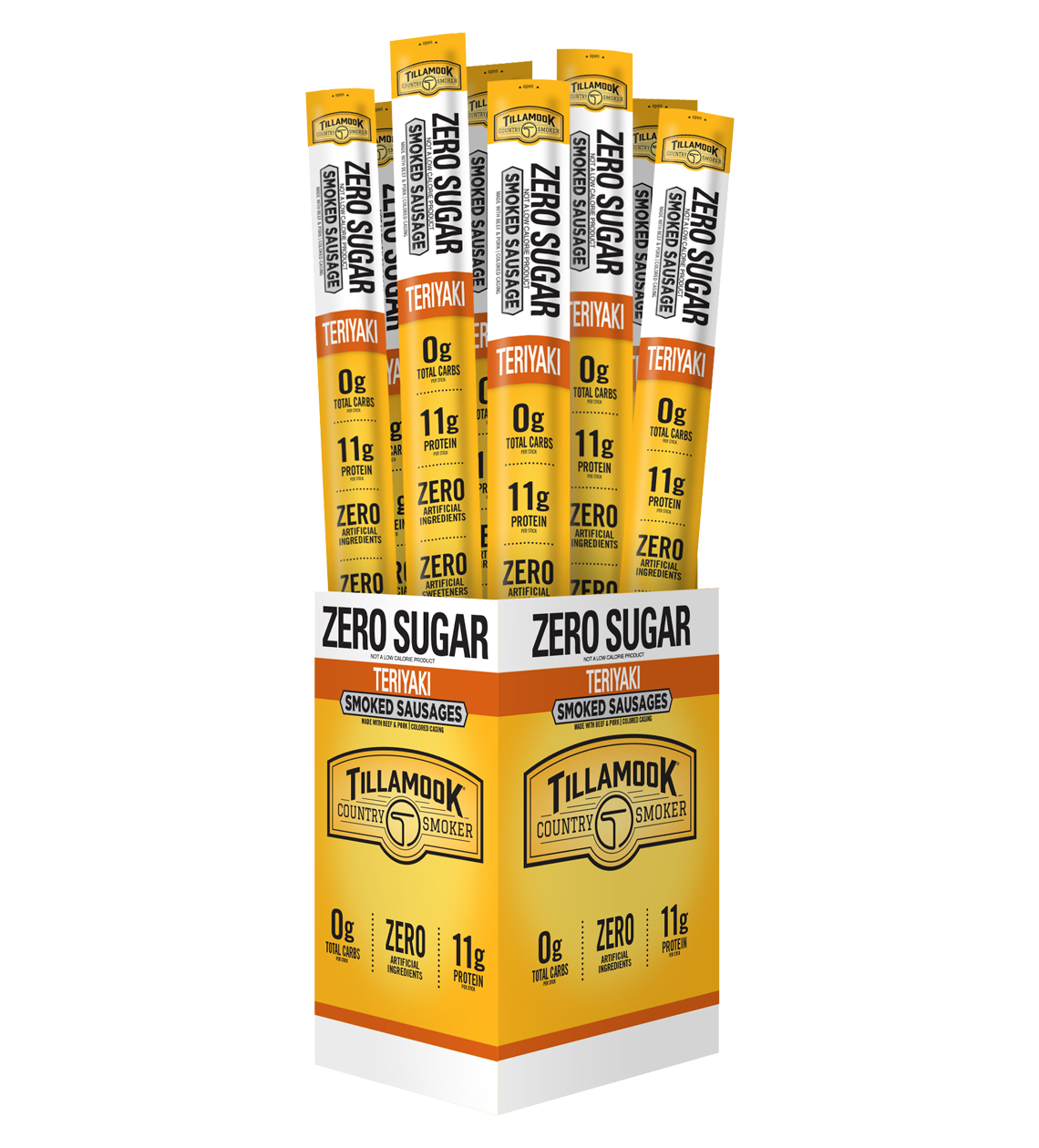 #127 Zero Sugar Teriyaki Meat Sticks