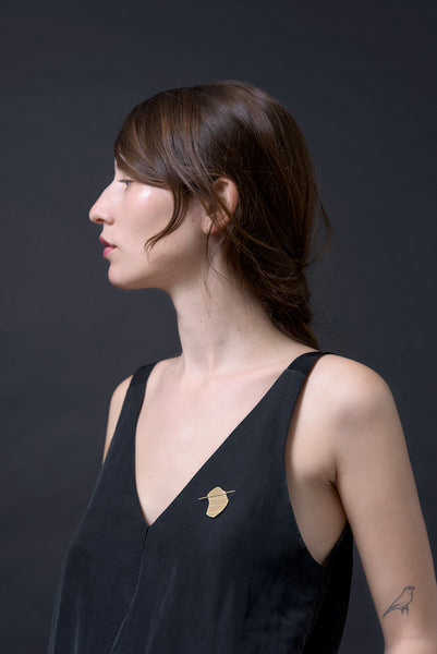 March 2016 lookbook from Knobbly Studio: brooches, solid gold, and collaborations!