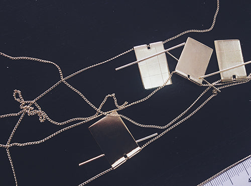 Grid+Lever necklace making party!