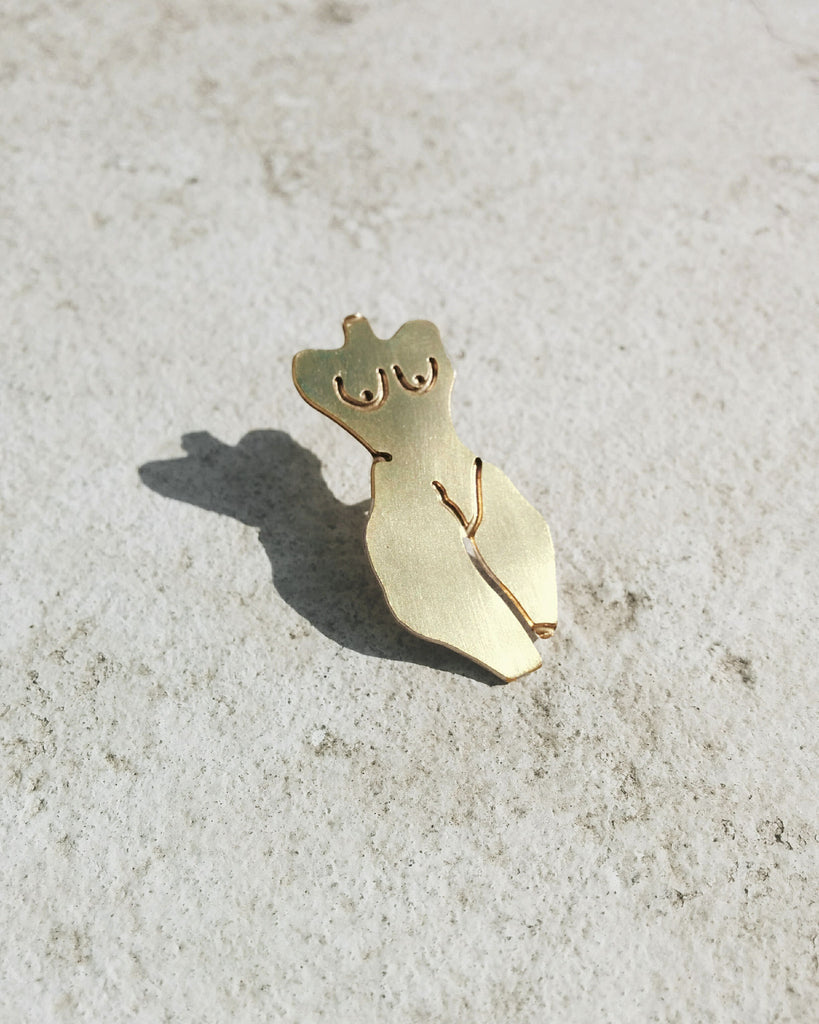 Nude No. 1 Pin