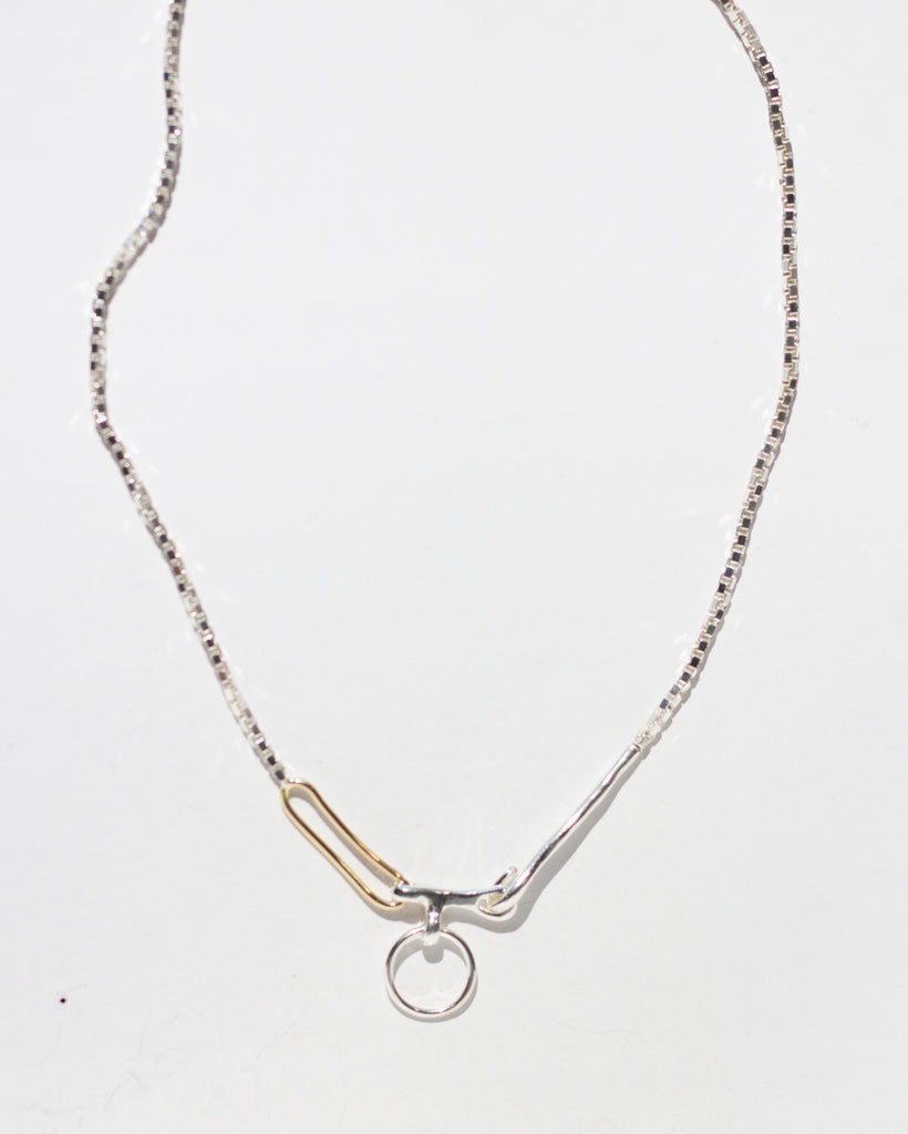 Twin Link Necklace