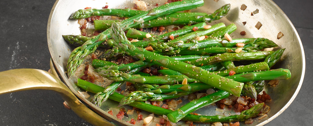 Salinity™ Salts: Asparagus with Pancetta Recipe