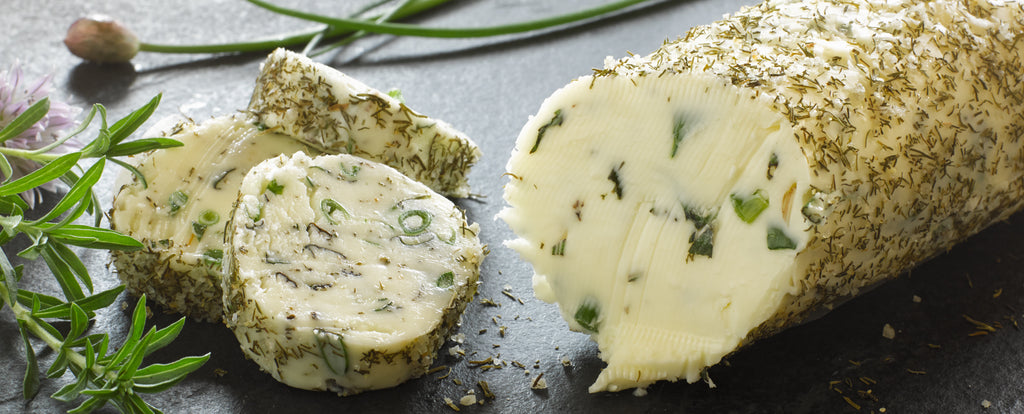 Salinity™ Salts: Dilly-O Herb Butter Log