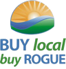 Buy Local, Buy Rogue Logo