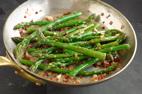 Asparagus on Pancetta Recipe