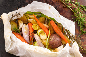 Vegetables in Parchment Recipe