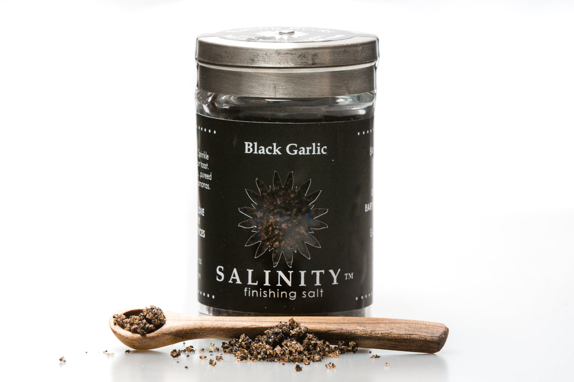 Black Garlic Finishing Salt