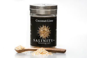 Coconut-Lime Finishing Salt