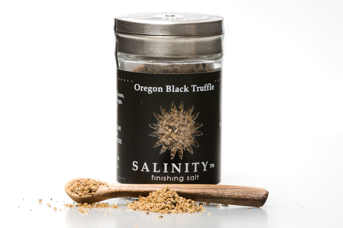 Oregon Black Truffle Finishing Salt