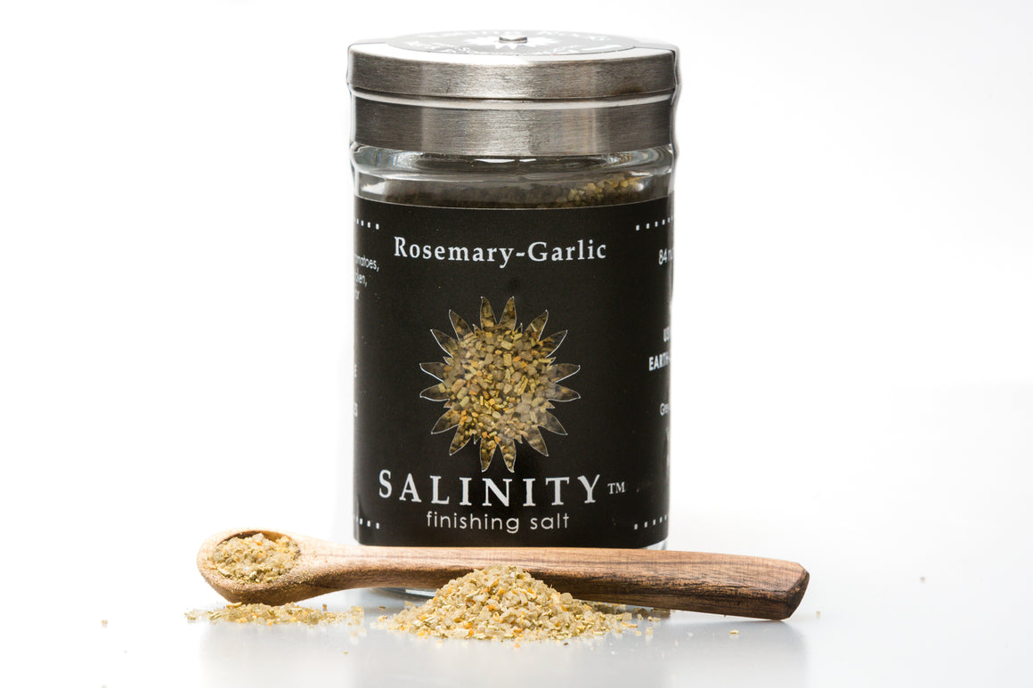 Rosemary-Garlic Finishing Salt