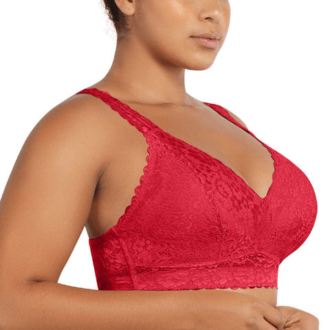Adriana Bralette P5482 Racing Red