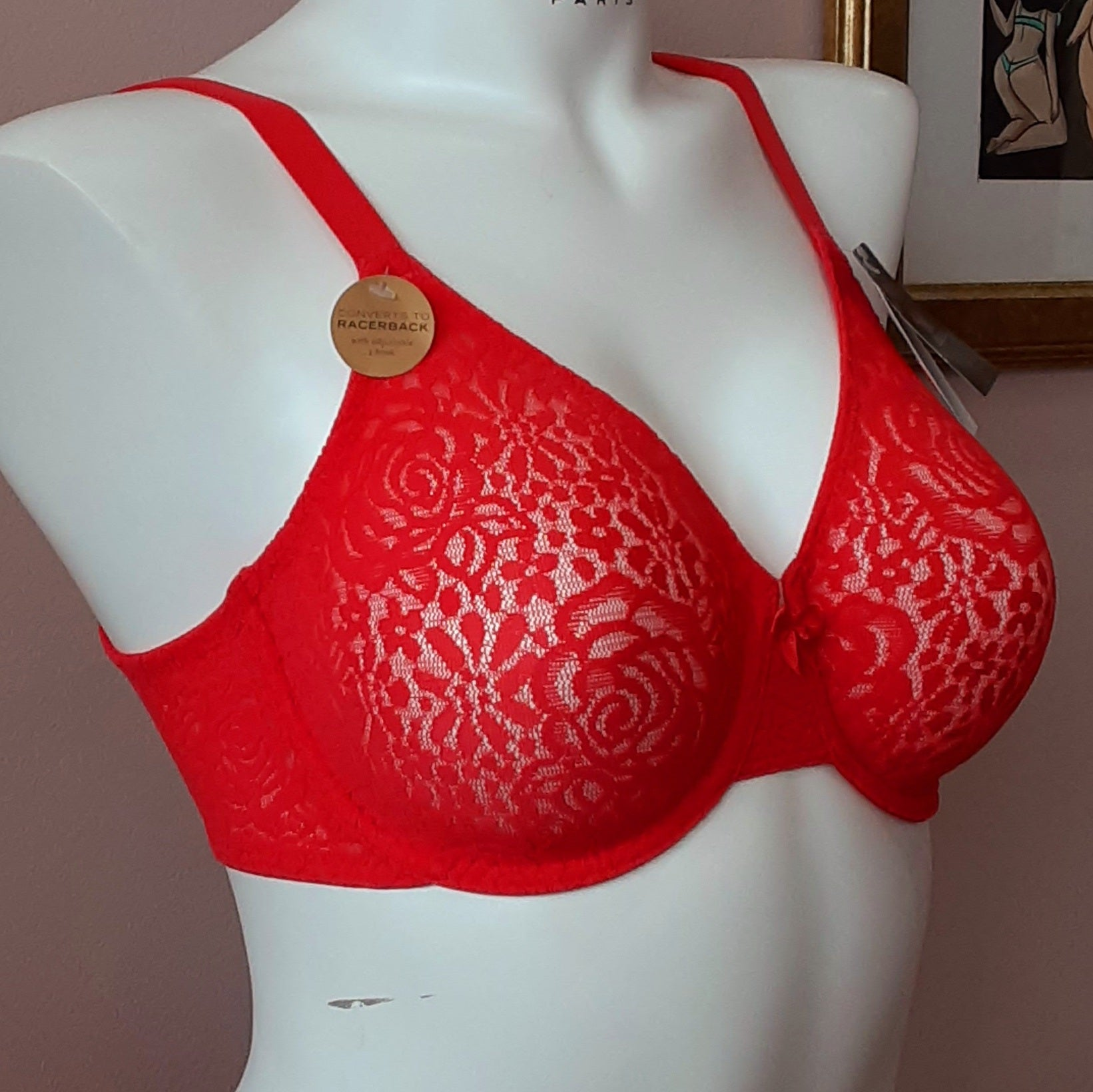 Halo Lace Smooth 851205 Hibiscus