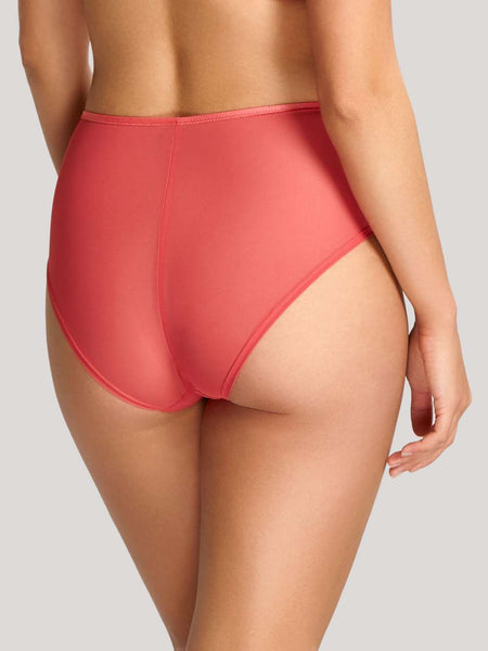 Alexandra High Waist Brief 100094 Coral