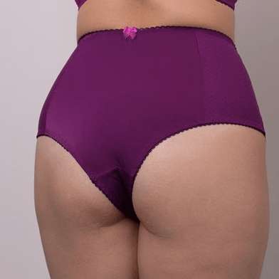 Michelle High Briefs Purple