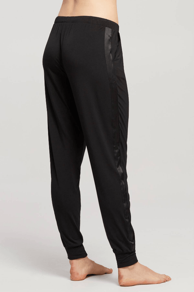 Jogger with Silk Trim 6206 Black