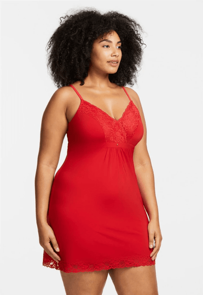 Bust Support Chemise 9194 Sweet Red