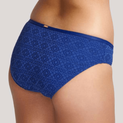 Anya Crochet Classic Swim Brief SW1256 French Blue