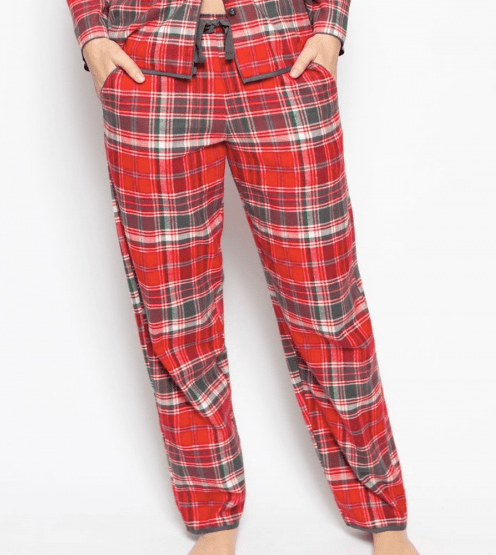 Belle Plaid PJs C-4254/5 Red