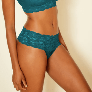 Comfie Cutie Thong 0343 Deep Green