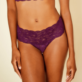 Comfie Cutie Thong 0343 Deep Purple