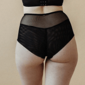Luna Highwaist Brief 0431-37 Black