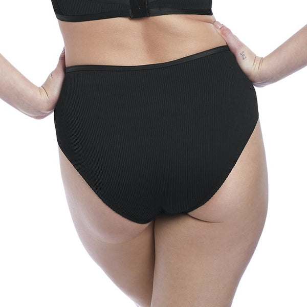 Nouveau High Waist Bikini Brief AS6707 Black
