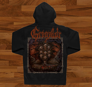 Grógaldr hooded sweatshirt
