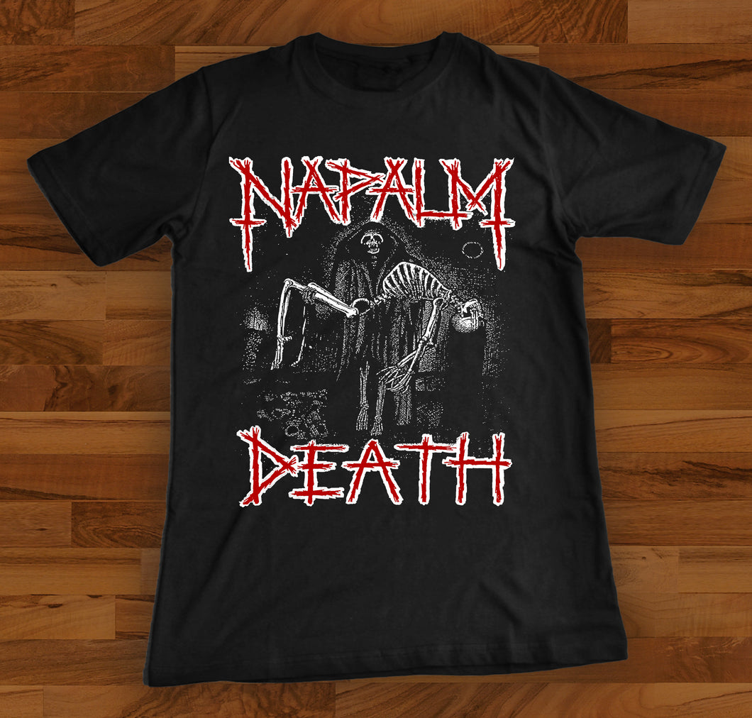 Napalm Death Reaper Shortsleeve Shirt