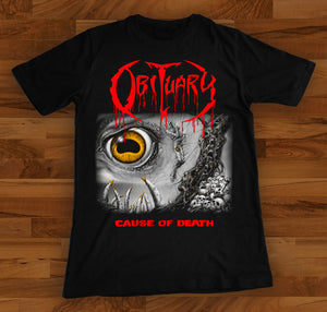 Obituary - Cause of Death Shortsleeve Shirt