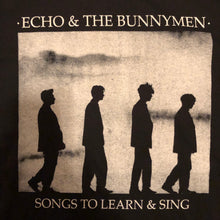 Load image into Gallery viewer, Echo and the Bunnymen - Songs to Learn and Sing Shirt