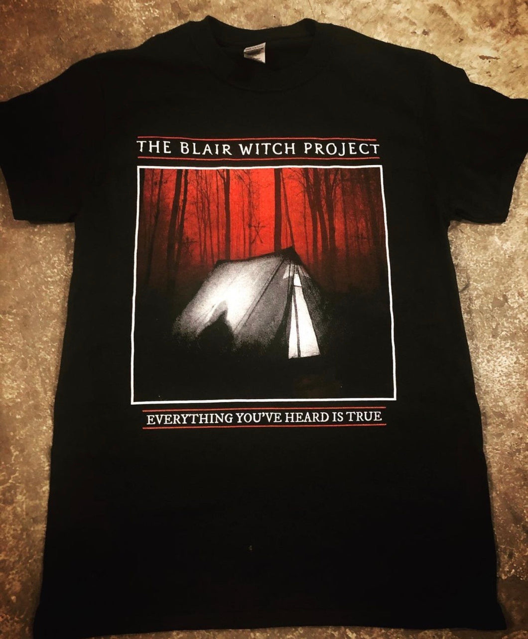 Blair Witch Project Horror Movie Shirt
