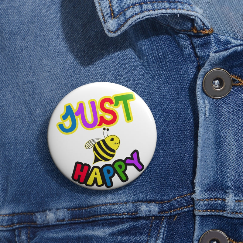 Custom Pin Buttons - JBH Multi-Color