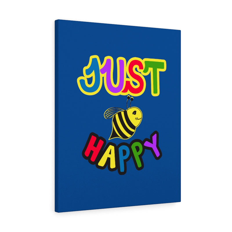 Blue Canvas Gallery Wraps - JBH Original Multicolor