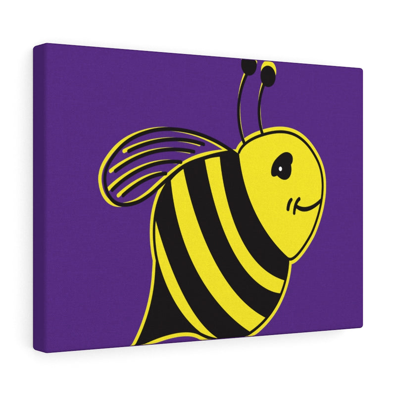 Purple Canvas Gallery Wraps - Bee