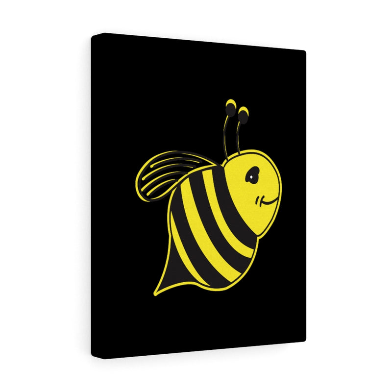 Black Canvas Gallery Wraps - Bee