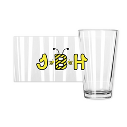 Pint Glasses - JBH Stripes